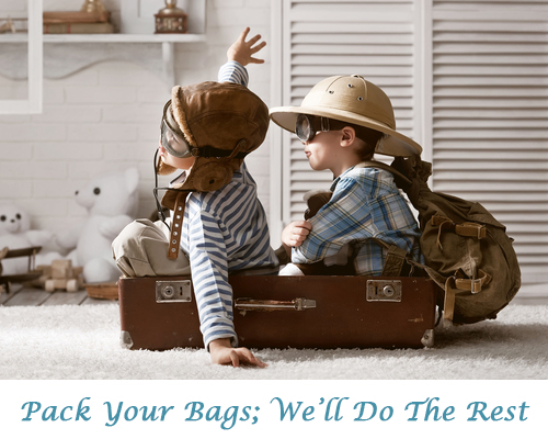 Pack Your Bags; We'll Do The Rest